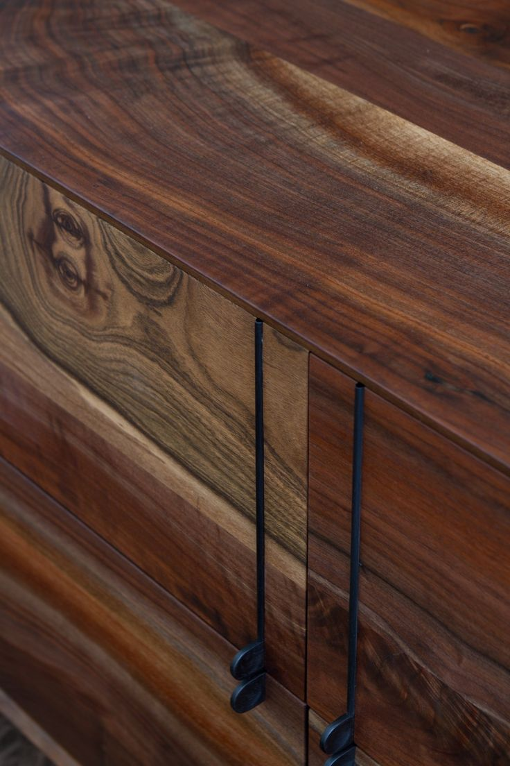 Lake Credenza In Claro Walnut By BDDW Furniture Pinworthy Tables Consoles We Love At