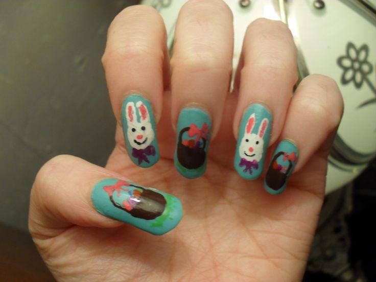 Easter Baskets & Bunnies