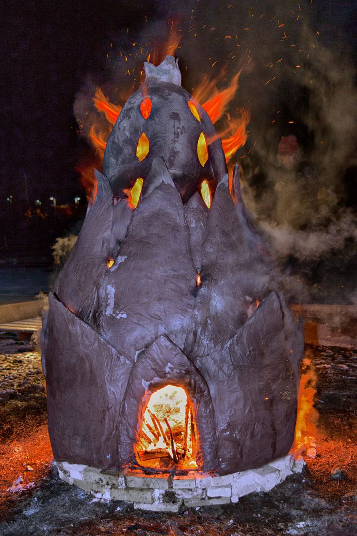 Fire Sculpture by Laurie Spencer See more at: www.facebook.com/LaurieSpencerCeramics