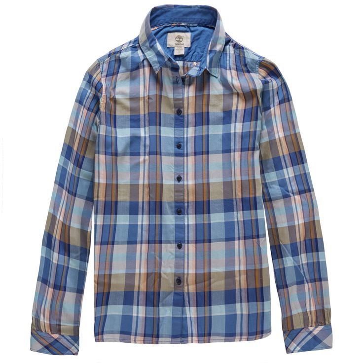 Women's Sudbury River Check Shirt #2days1bag #Timberland