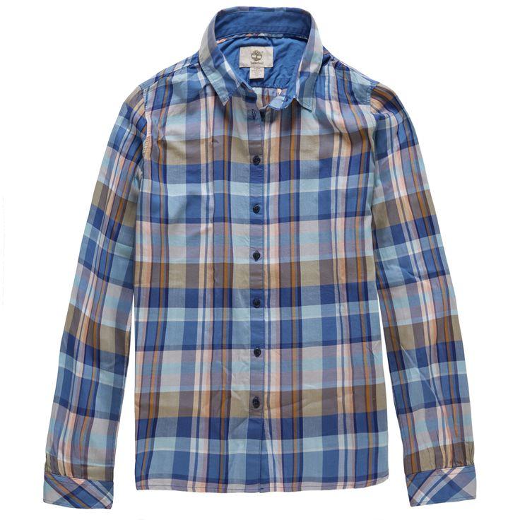 Women's Sudbury River Check Shirt #2days1bag #Timberland
