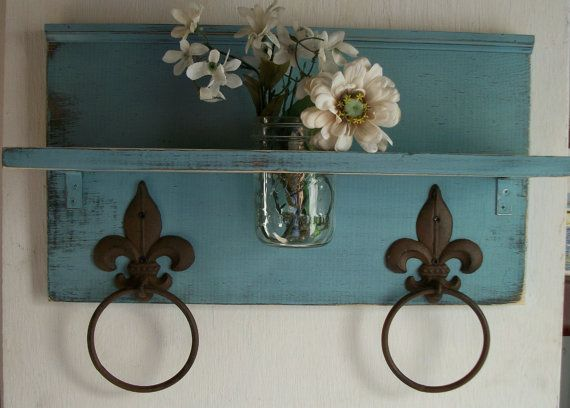 Etsy.com: Shabby Robin Egg Blue Chic  by ACOUNTRYWAY