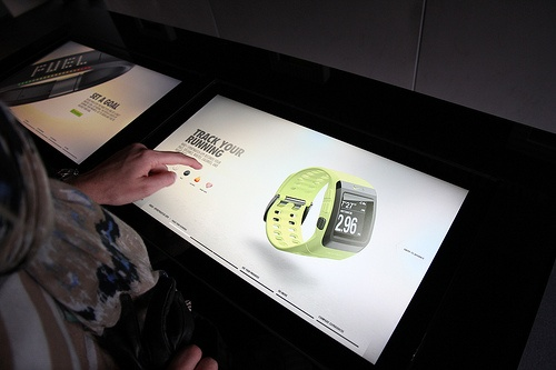NikeFuel Station at Box Park in Shoreditch, London
