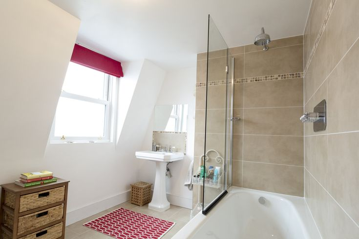 Stunning Loft Conversion Bathroom, Clapham, London. Constructed By Loft  Specialist, Simply Loft