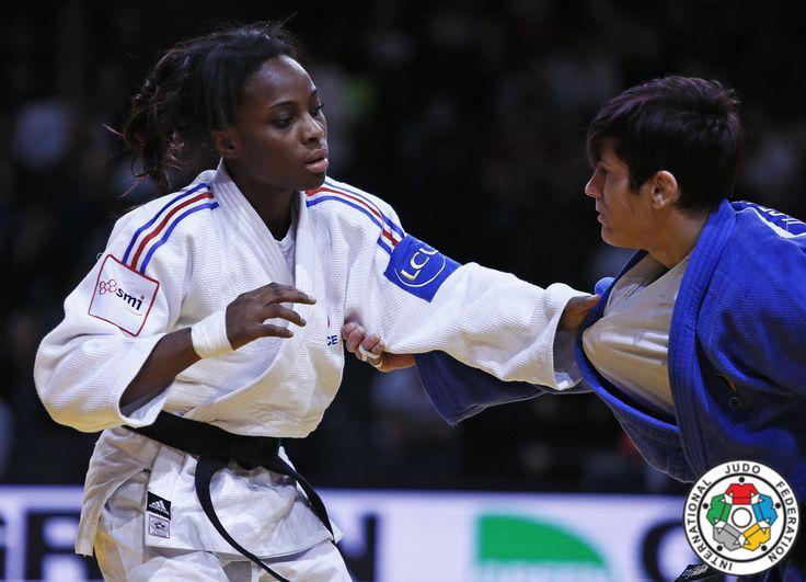 Priscilla Gneto (FRA), Ilse Heylen (BEL) - Grand Slam Paris (2016, FRA) - © IJF Media Team, IJF