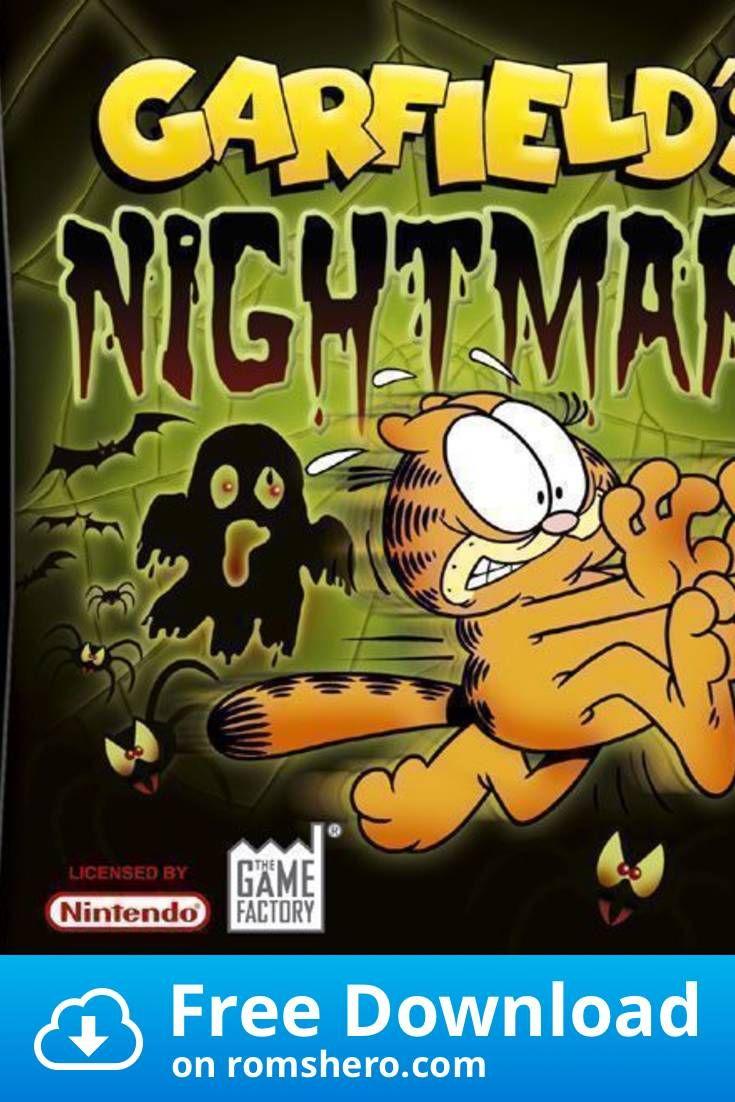 Download Garfield S Nightmare Nintendo Ds Nds Rom In 2020 Nintendo Ds Garfield Nintendo