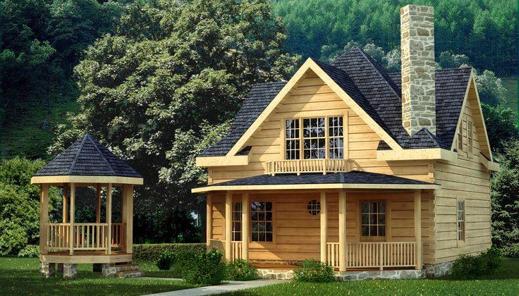 Salem log home plan southland log homes https www for Log cabin portici e ponti
