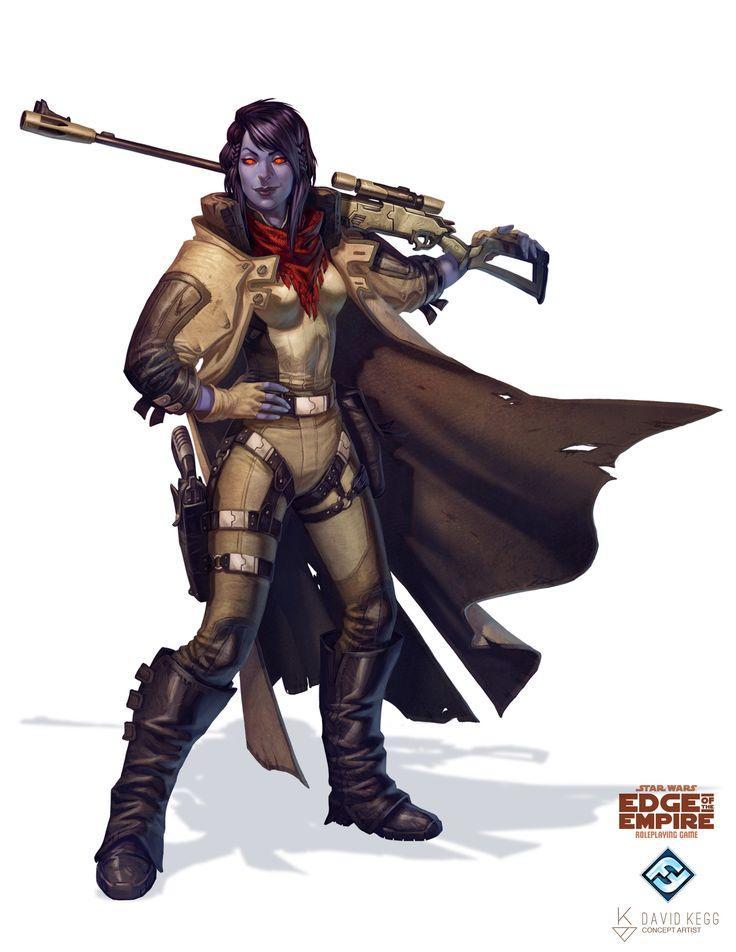 Star Wars: Edge of the Empire - Devaronian Pirate by David Kegg on ArtStation.