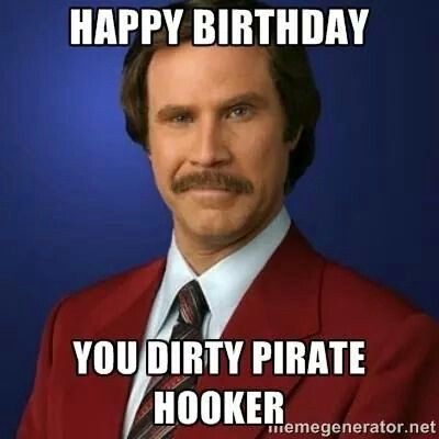 Dirty pirate hooker