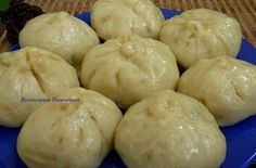 """""""Пянсе"""" - корейские пирожки (на пару) - простой и быстрый рецепт. Готовьте на здоровье"""