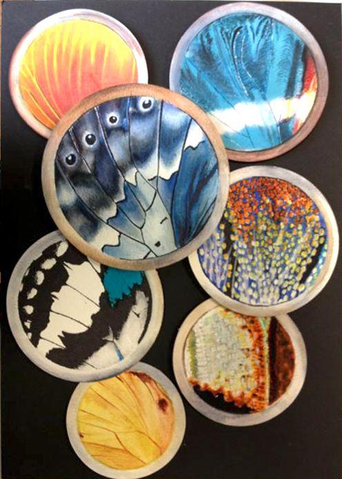 GCSE Exam Unit -final piece (butterfly wings) 2014