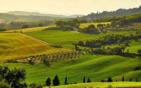 Toszkána, Olaszország, tavasz