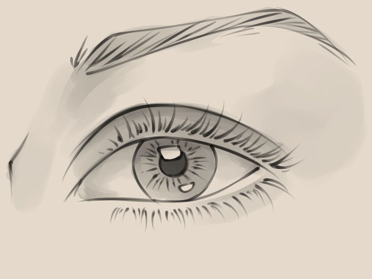 10 steps to a pencil sketch eye weve tried this one with good