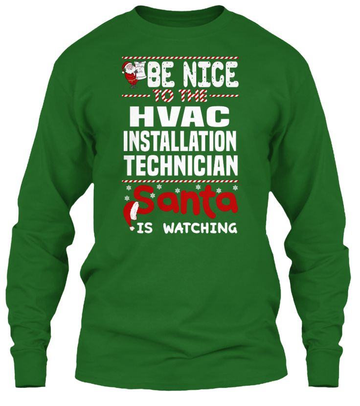 Be Nice To The HVAC Installation Technician Santa Is Watching.   Ugly Sweater  HVAC Installation Technician Xmas T-Shirts. If You Proud Your Job, This Shirt Makes A Great Gift For You And Your Family On Christmas.  Ugly Sweater  HVAC Installation Technician, Xmas  HVAC Installation Technician Shirts,  HVAC Installation Technician Xmas T Shirts,  HVAC Installation Technician Job Shirts,  HVAC Installation Technician Tees,  HVAC Installation Technician Hoodies,  HVAC Installation Technician…