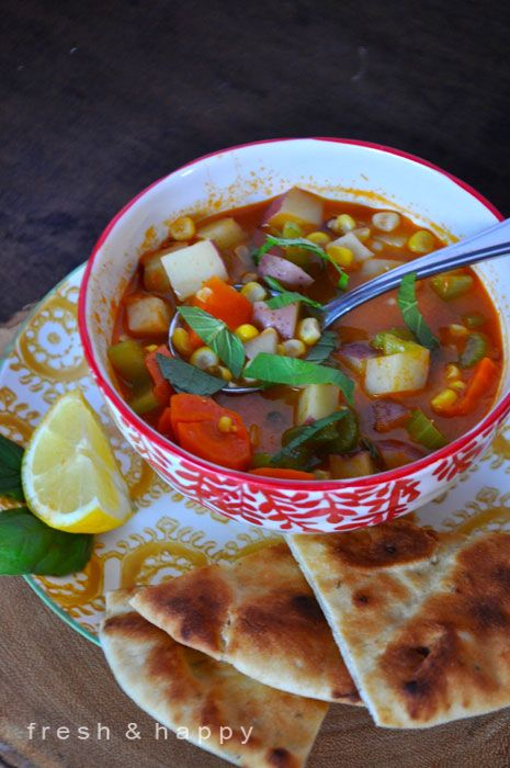 Healthy-Thai-Vegetable-Soup
