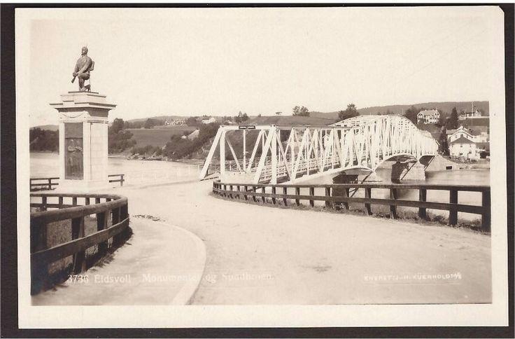 1776310: Eidsvoll. Monumentet og Sundbroen. Küenh.