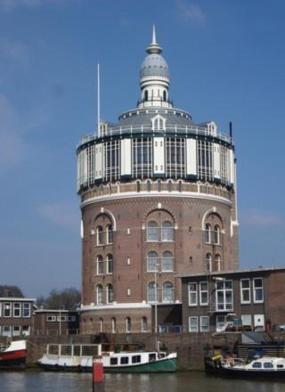 Watertower, De Esch. Rotterdam, NL.