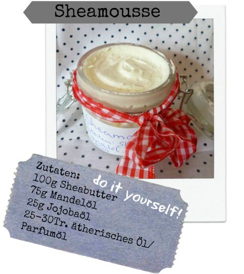 sheamousse selber machen body lotion