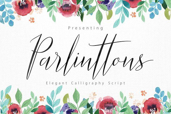 Parlinttons Script by FadeLine on @creativemarket
