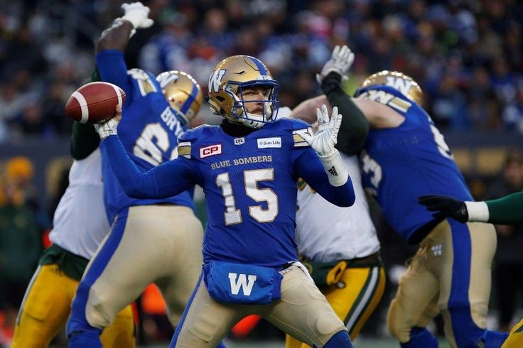 Through the Lens Images from the WSF Blue bombers