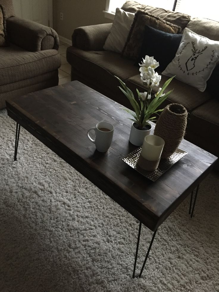 Best 25 hairpin leg coffee table ideas on pinterest diy for Cheap hairpin legs