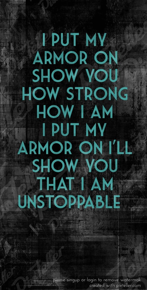 Sia | unstoppable