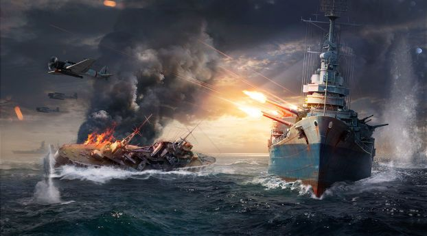 World Of Warships Sinking Ship Wallpaper Hd Games 4k Wallpapers Images Photos And Background Wallpapers Den World Of Warships Wallpaper Warship Warship Battle World of warships wallpaper 4k