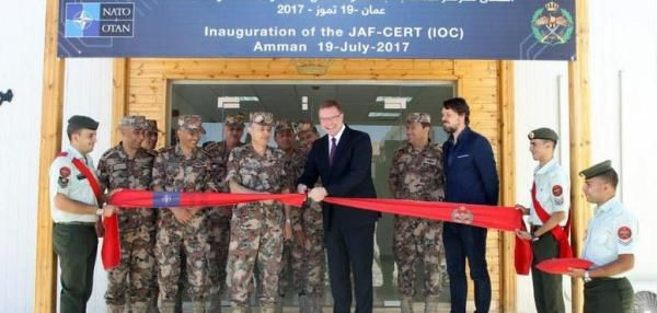 NATO and the Jordanian armed forces held a ceremony to inaugurate the creation of the Computer Emergency Response Team for cooperation on…