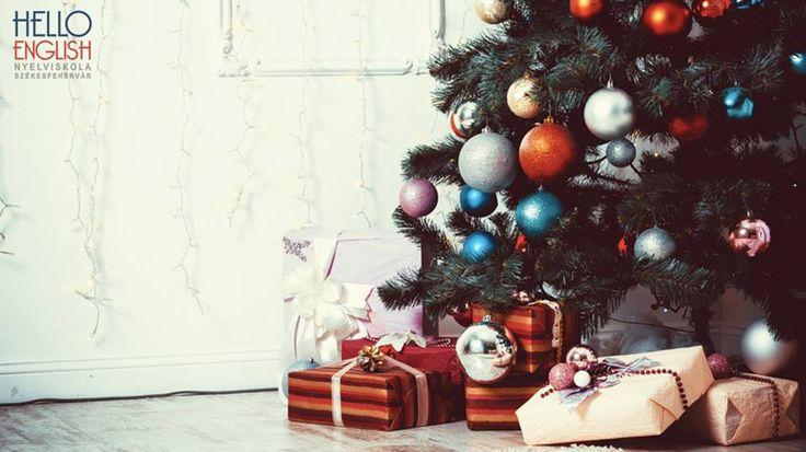 Minden kedves jelenlegi, régi és leendő tanulónknak Kellemes Karácsonyt kíván a Hello English csapata.