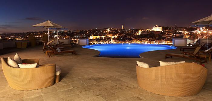 The Yeatman, a wine-spa hotel located on the banks of the River Douro in Porto, Portugal