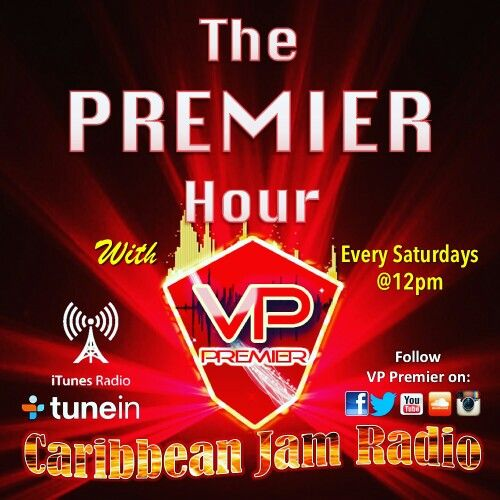 The Premier Hour ft. VP Premier - Every Saturdays at 12pm.
