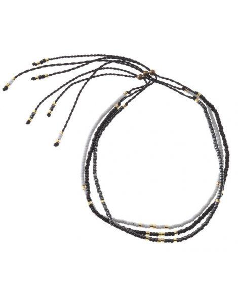 Bracelets En Perles De Verre Noir - MATSUNO - Depuis 1935 Matsuno Glass Beads diffuse à travers le monde ses perles de verre d'une qualité inégalée et d'une grande finesse.