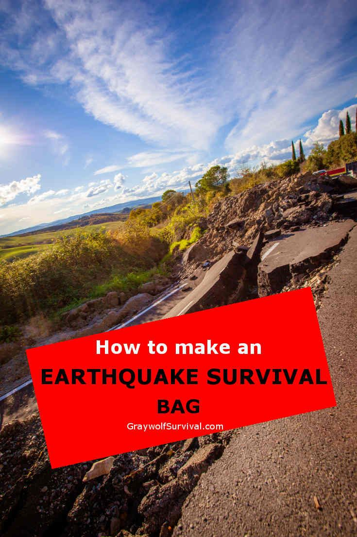 There's TONS of info on how to prepare your home for an earthquake but how do you make an earthquake survival bag to get you home or if you can't go home yet? Long article but very thorough: http://graywolfsurvival.com/200566/how-to-build-a-portable-earthquake-kit-for-the-city/