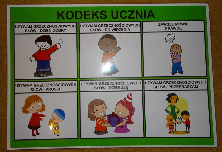 KODEKS UCZNIA - PLANSZA 2