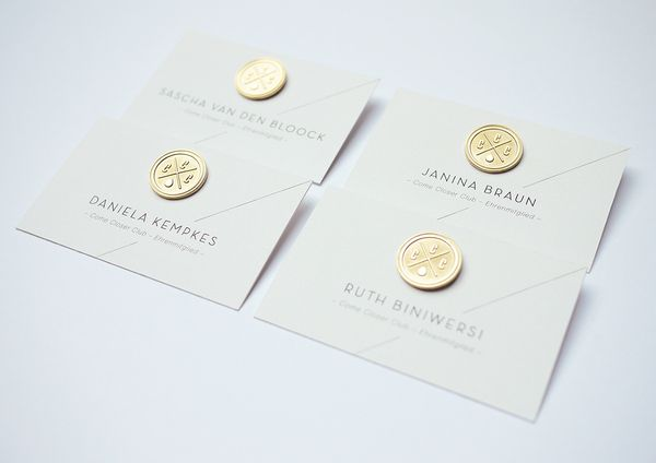 Come Closer Club: Love these business card ideas! http://www.behance.net/arewedesigner