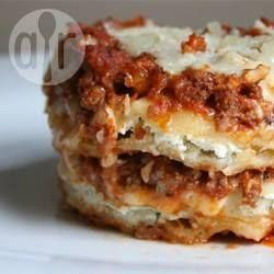 Recipe Picture:Cheese Ravioli Lasagne
