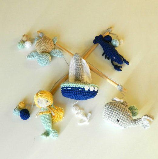 ** Dit is een op maat, om het object. Gelieve dat 7-10 werkdagen kan duren voor het maken van dit item, plus verzending time.* *   Deze prachtige nautische mobiele is geschikt voor elke jongen of meisje kamer die houdt van boten, de Oceaan, vissen of om toe te voegen een mooie nautisch thema naar zijn slaapkamer!  Deze mobiele kan worden gebruikt als een stuk speelgoed of gespeeld worden met, wanneer het kind ouder is!  Mobiele weergegeven in het hoofdbeeld:  Kleuren: Marine blauw, licht…