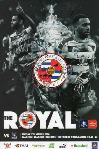 Reading - F.A. Cup 6th Round