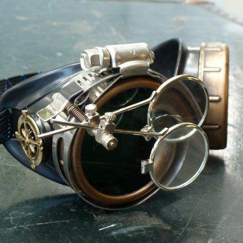Steampunk Victorian Goggles welding Glasses
