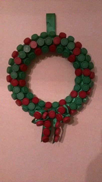 20 best bottle craft images on pinterest bottle caps for Christmas decor using plastic bottles
