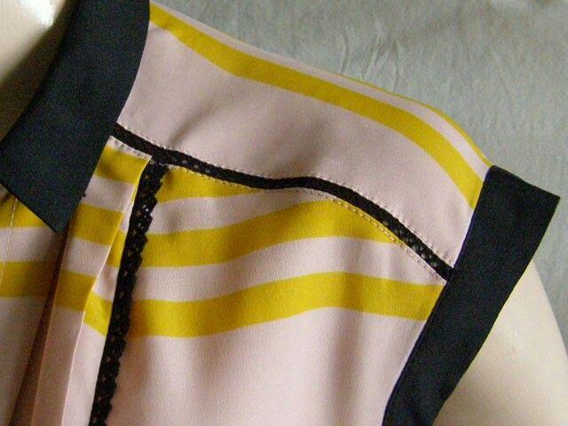 Jason Wu for Target rare trendy sleeveless striped dress.