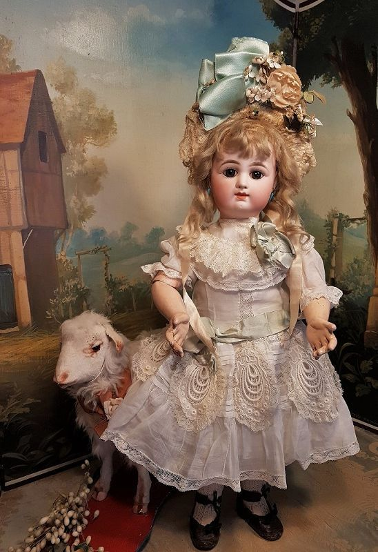 ~~~ Superb French Bisque Bebe by Rabery et Delphieu ~~~ (item #1367839, detailed views)