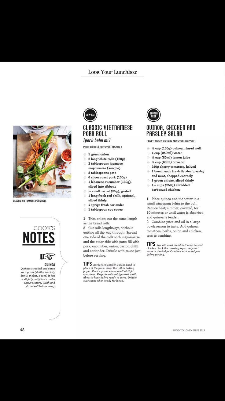 Quinoa, chicken and parsley salad
