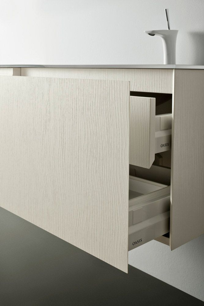 Luxury bathroom furniture, designed and manufactured by italian company Oasis, from the Origine collection.
