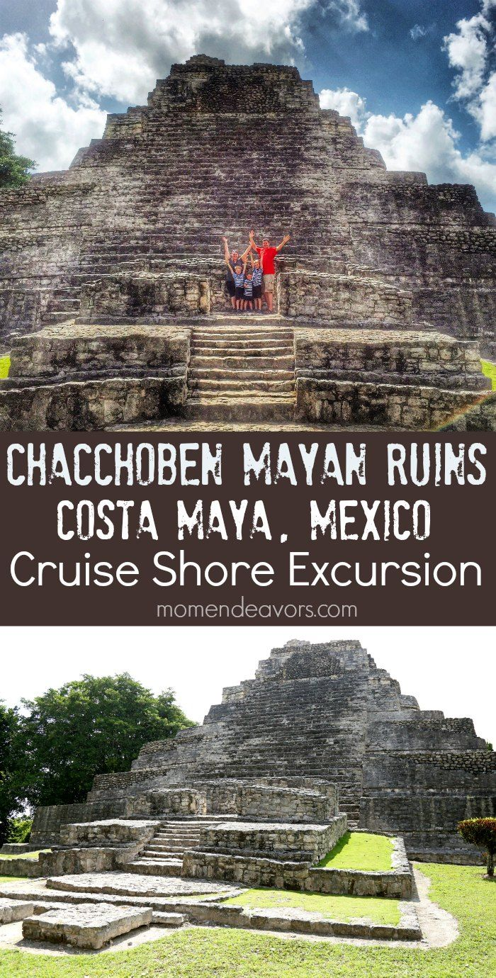 Chacchoben Mayan Ruins in Costa Maya, Mexico - family travel experience of Carnival Cruise shore excursion.