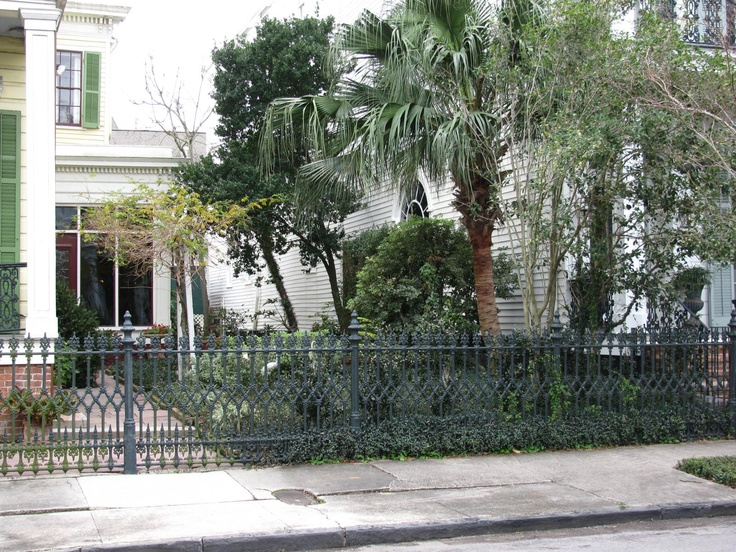 17 best images about new orleans cast iron on pinterest for Landscaping rocks new orleans