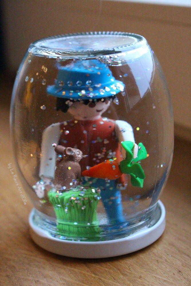⎨DIY⎬ Boule à paillettes Playmobil