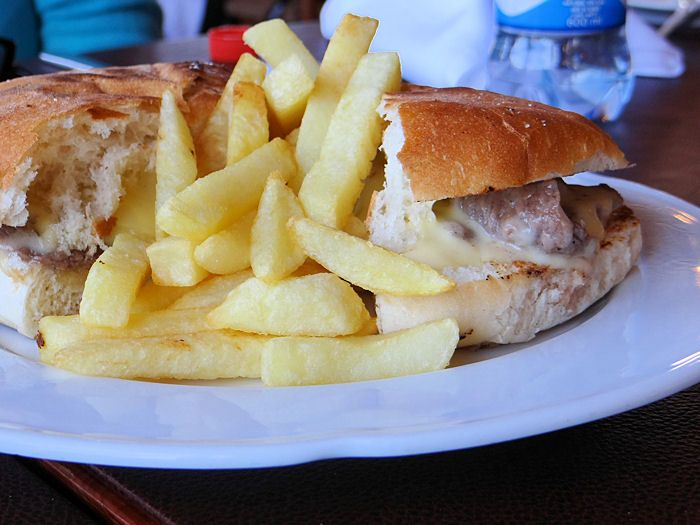 Barros Luco Sandwich – a Chillean specialty