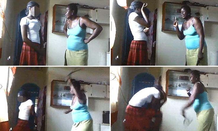 Video of mom whipping daughter, 12, for posing semi-nude goes viral http://dailym.ai/1fckKiV