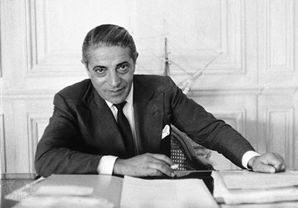 Aristotelis Onassis.  They used to call him Ari or Aristo but the full name of the famous ship owner was Aristotelis Sokratis Onassis. He was born in January 20, 1906 and died in March 15, 1975.